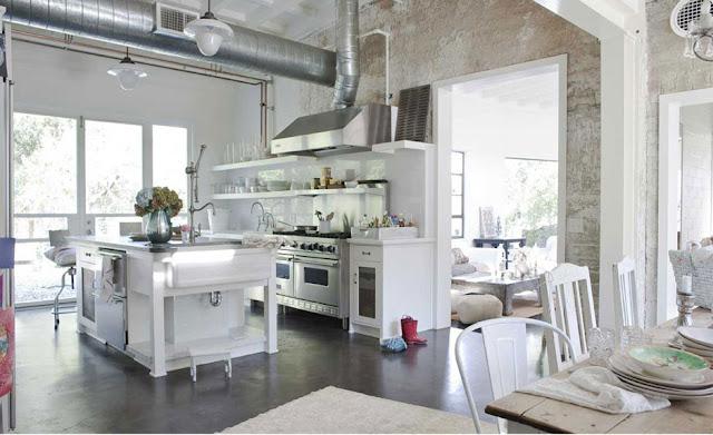 Amy-Neunsinger-photographer-California-cottage-shabby-chic-interior-design-hellolovely-white-kitchen-industrial