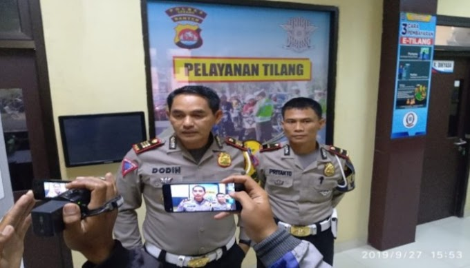 Hari ke 7 Operasi Lilin Kalimaya 2019, Arus Lalulintas Wilayah Hukum Polres Serang Kabupaten Masih Relatif Lancar