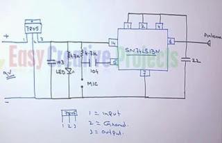 homemade fm transmitter circuit diagram