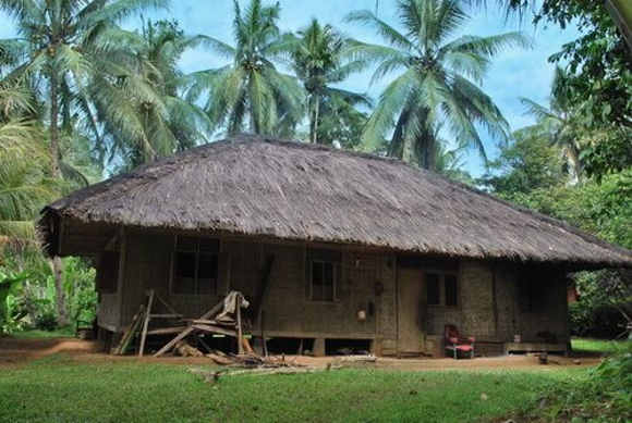 Salah Satu Rumah di Kampung Kuta