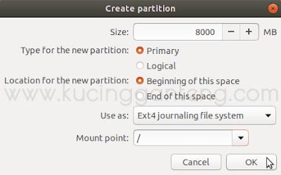Cara Install Ubuntu 18.04 LTS