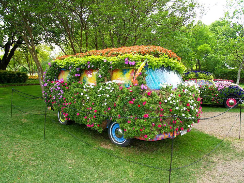 How To Recycle Abandoned Cars Gardening