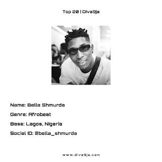 Bella Shmurda | Top 20 On Diva9ja
