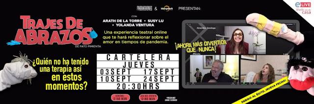 """La obra de teatro """"Trajes de Abrazos tendrá temporada virtual debido al éxito"""