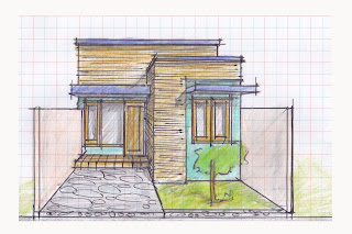 view of simple house plan 04