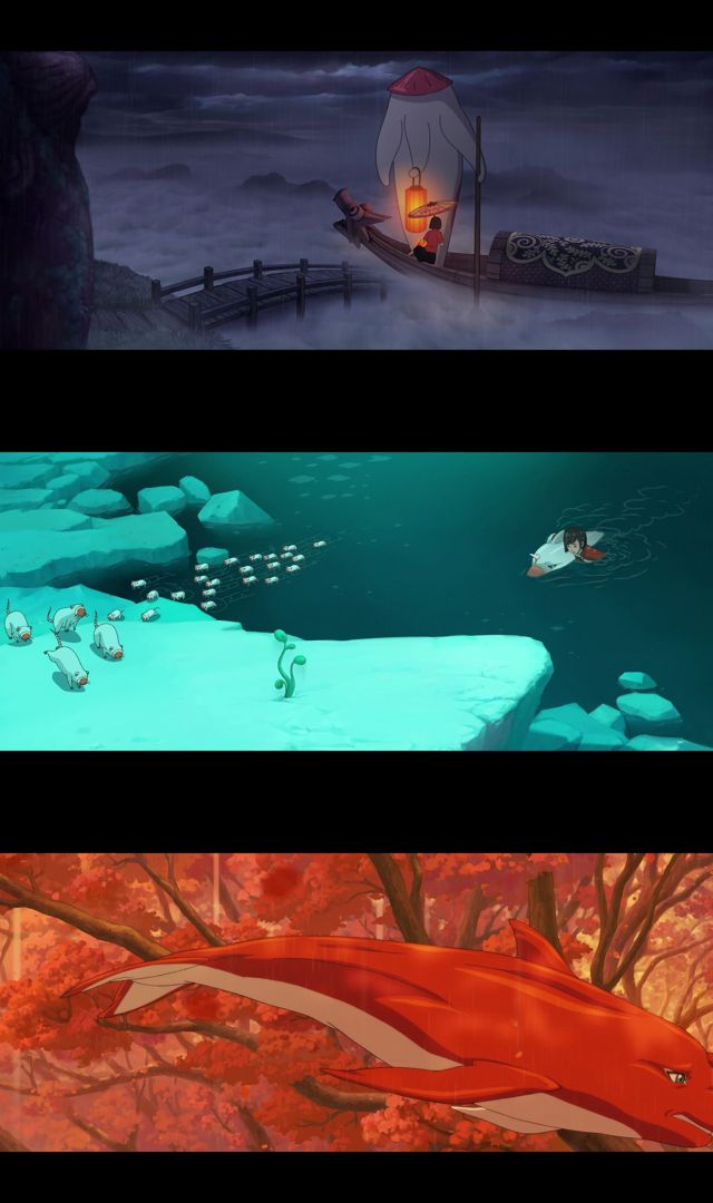 Big Fish and Begonia (2018) HD 1080p y 720p Latino