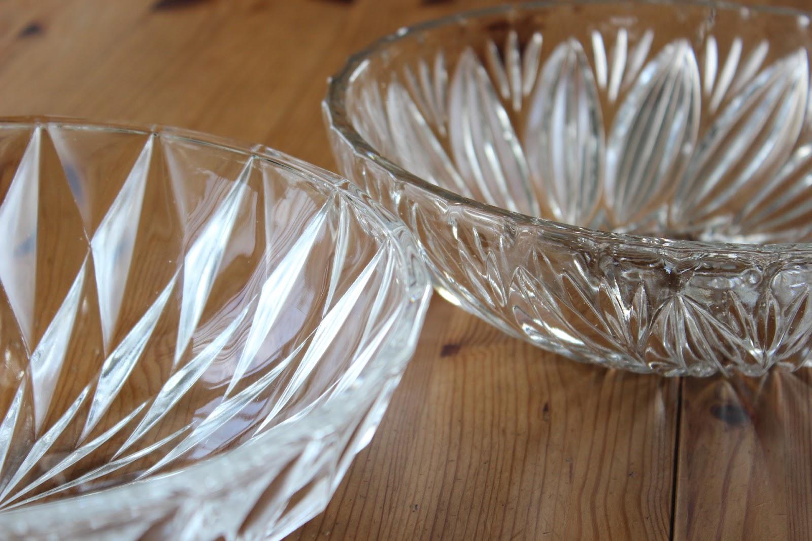 家で過ごす良い時間: ガラスの器
