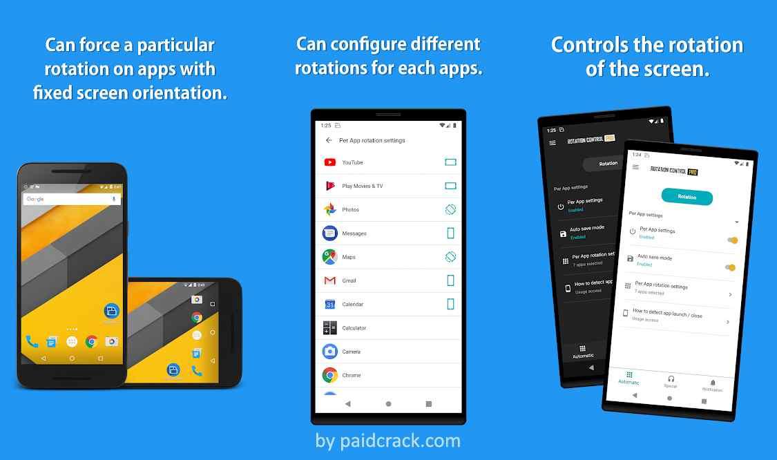 Rotation Control Mod Apk