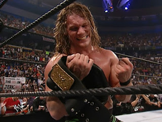 WWE / WWF No Mercy 2001 - Chris Jericho beat The Rock for the WCW title