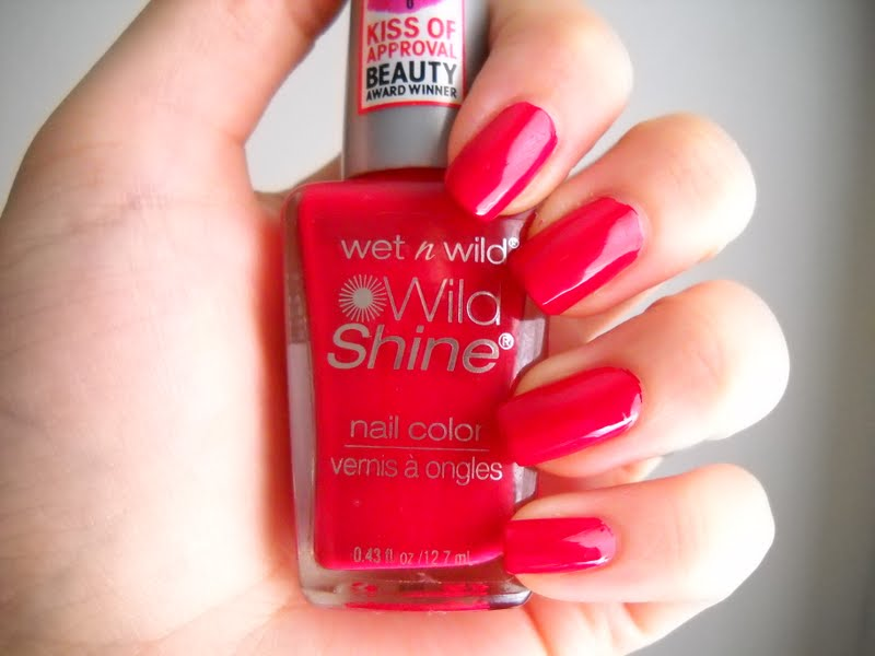 The Nail Goddess Wet N Wild Red Red
