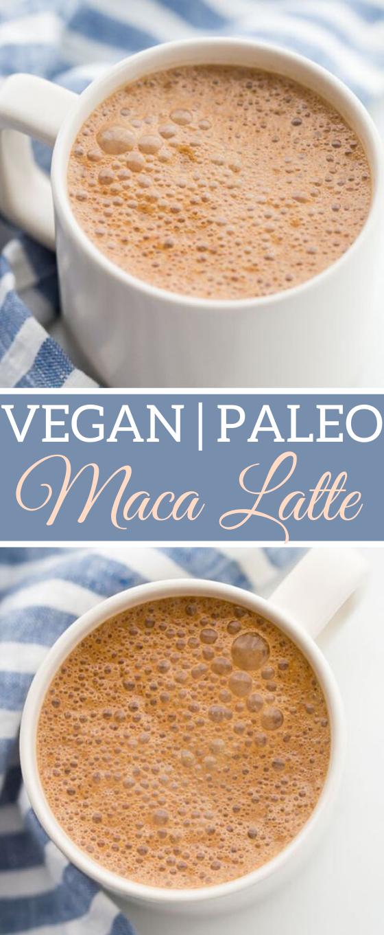 Miracle Maca Latte #latte #drinks #healthy #warm #beverages