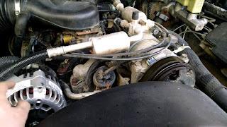 problème d'hésitation du moteur