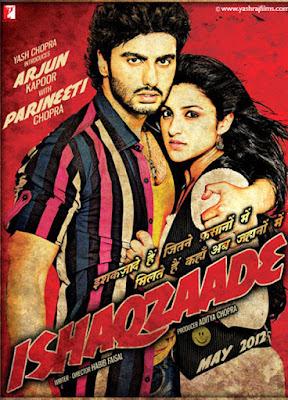 Ishaqzaade 2012 Hindi 720p BluRay 1.5GB