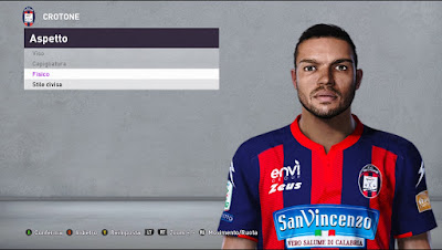 PES 2020 Faces Junior Messias by Andò12345