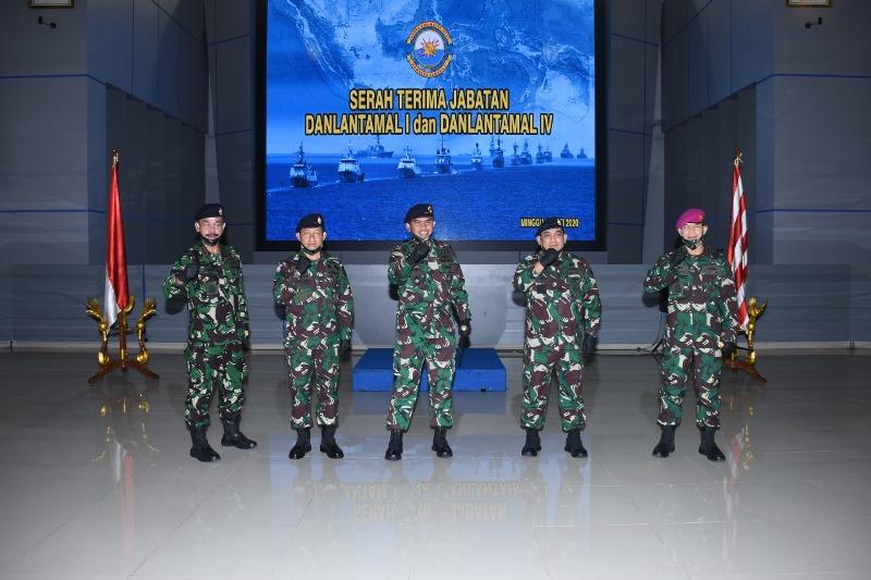 Kolonel Laut Indarto Budiarto Resmi Pimpin Danlantamal IV Tanjungpinang