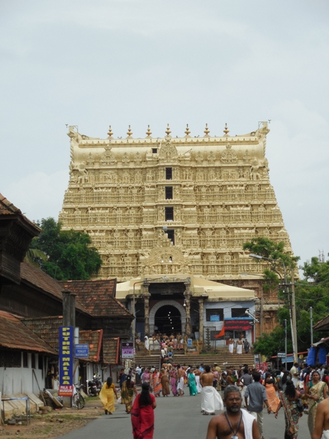 Temples of Kerala -Shree Padmanabhaswamy Temple - Thiruvanathapuram