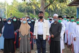 Rusdy Mastura Silaturahmi dan Beri Bantuan ke Yayasan Pondok Tahfizh Khodimul Quran