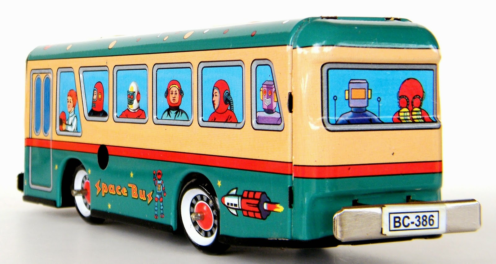 Toys and Stuff: Chinese Space Bus #MS-457