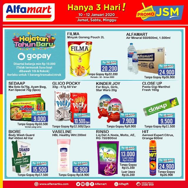 #Alfamart - #Promo Katalog JSM Periode 10 - 12 Januari 2020