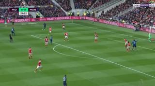 اهداف مباراة  مانشستر يونايتد وميدلزبره 3-1 الاحد 19-03-2017 الدوري الانجليزي