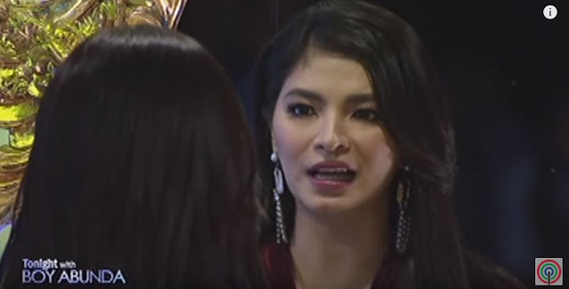 Angel Locsin In TWBA: Bravely Faced Herself In The Golden Mirror!