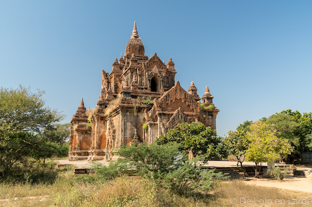 Temple Anauk O-Htein Taung - Bagan - Myanmar - Birmanie