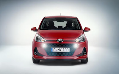 2017 Hyundai Grand i10 Facelift front picture