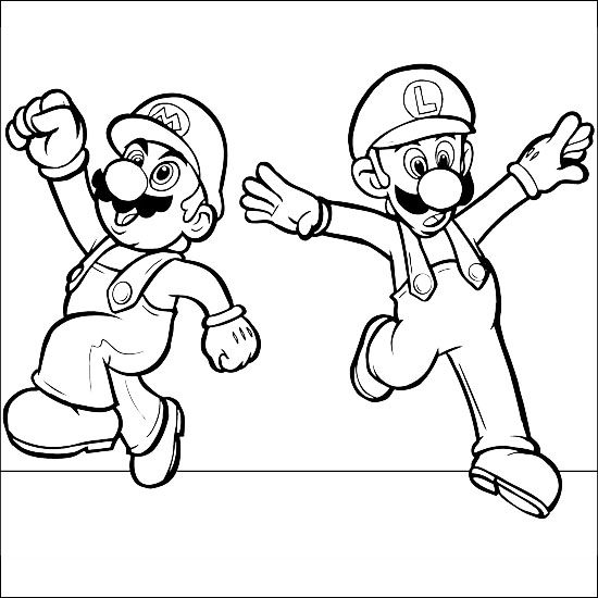 mario coloring pages to print - Free Coloring Pages ...