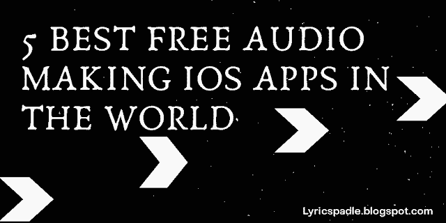 5 best free music making iOS apps in the world