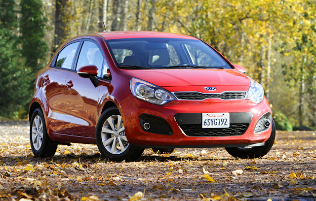 2012 Kia Rio EX on a crisp Oregon Day - Subcompact Culture