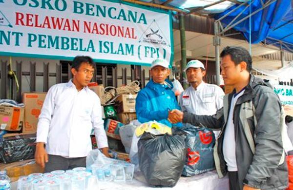 FPI Kerahkan Relawan ke Pidie Aceh, Buka Posko Kemanusiaan