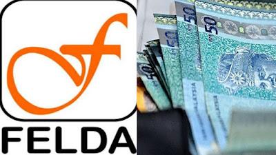 Tarikh Bayaran Bantuan Khas Aidilfitri RM300 Peneroka FELDA 2020