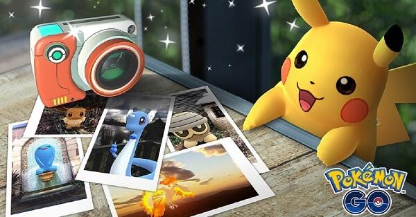 وضع جديد للعبة Pokemon GO يتيح التقاط صورة أي بوكيمون
