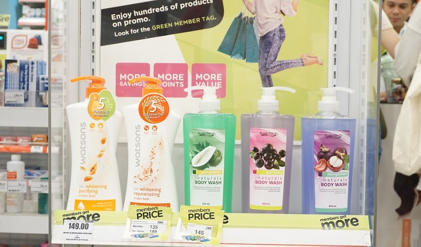 Members Get More at Watsons with SM Advantage Card