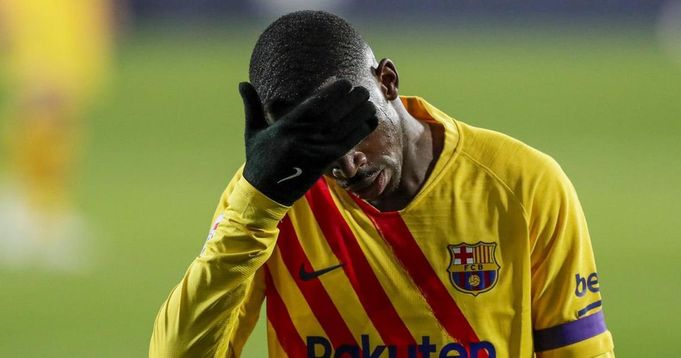 Barcelona changes plan in Dembele's treatment and food.