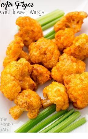 Air Fryer Cauliflower Wings
