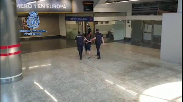 Detenido el presunto autor de la agresión a un sanitario ocurrida en Metro De Madrid 📹⤵