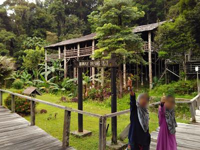 Percutian keluarga menarik di Kuching