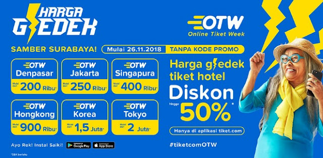 Diskon Termurah Tiket.com