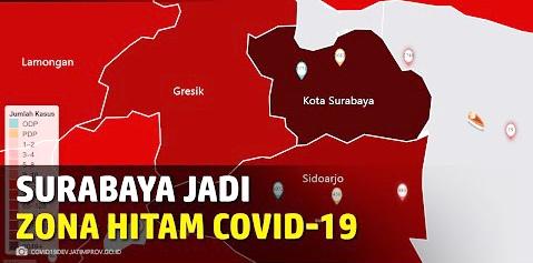 Pantas Saja Surabaya Jadi Zona Hitam, Dokter Ini Blak-Blakan Soal Bobroknya Penanganan Covid-19