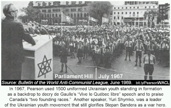 Canada cold war Eastern Europe Nazi collaborators diaspora Ukraine