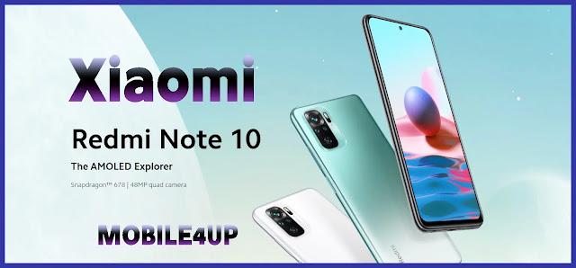 Xiaomi Redmi Note 10 سعر ومواصفات هاتف شاومى ريدمى نوت 10