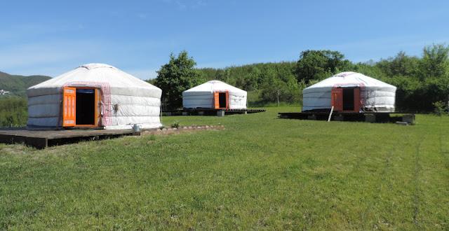 Dormire in Yurta in provincia di Parma - Esperienze regalo,pernottamenti alternativi - Glamping
