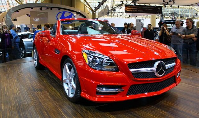 harga mobil Mercedes-Benz SLK-Class - SLK 200