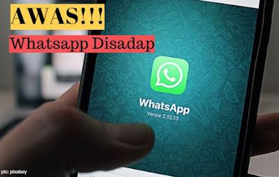 Awas Whatsapp disadap