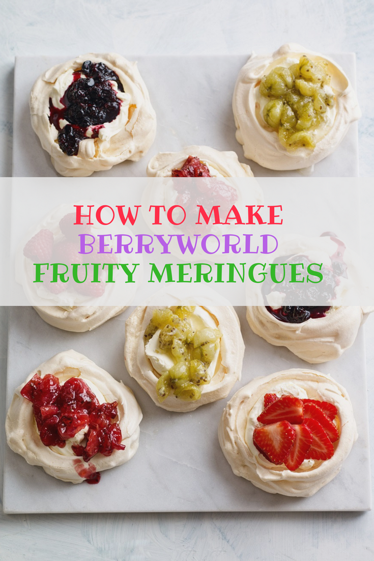 BerryWorld Fruity Meringues