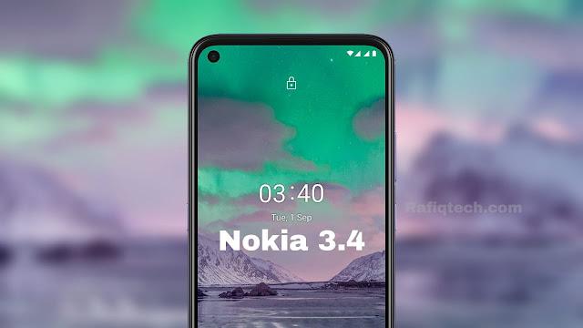 تحميل خلفيات نوكيا Nokia 3.4 الرسمية بجودة عالية الدقة