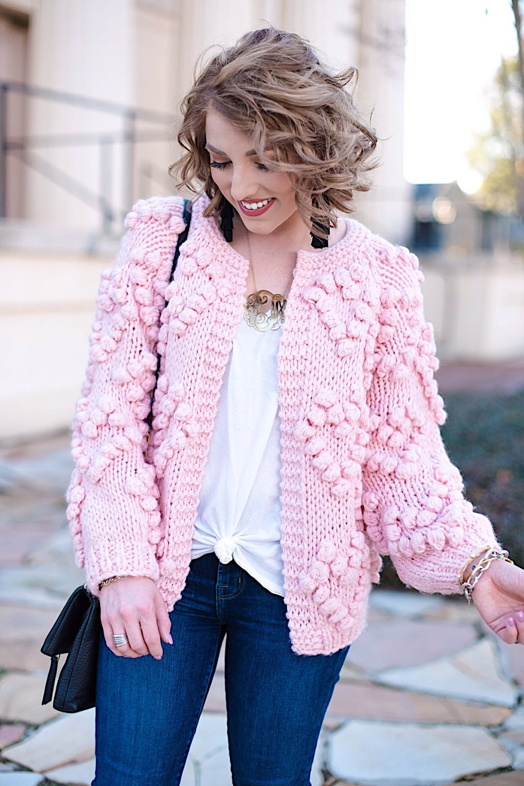 Heart Cardigan - All details can be found on Something Delightful Blog