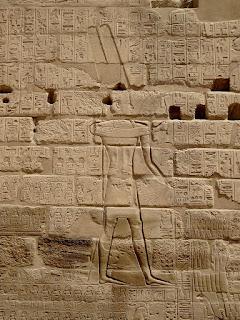 A descoberta do Recinto de Abraão em Karnak