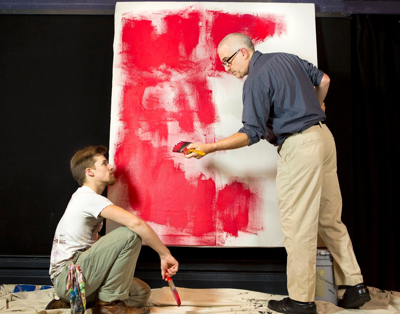 Mockingbird Theatre Productions In Ociation With Asheville Community Is Excited To Bring Red S 35below For The First Three Weekends